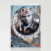 pilot Stationery Cards featuring Pilot by Jedi Master Schmidt
