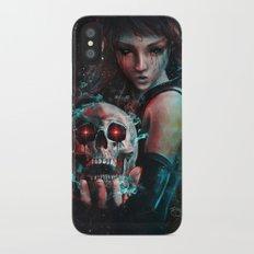 Skull Mage Dark Fantasy Original Character Painting Slim Case iPhone X
