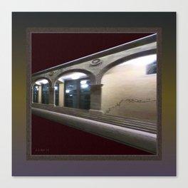 Imaginary Corridors Canvas Print