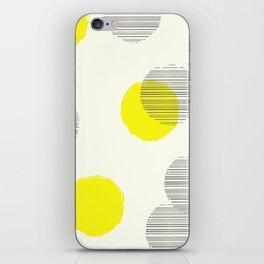 Overcast Polka Dots iPhone Skin