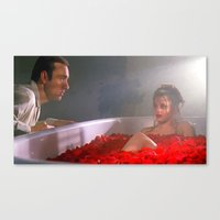 american beauty Canvas Prints featuring American Beauty by Gabriel T Toro
