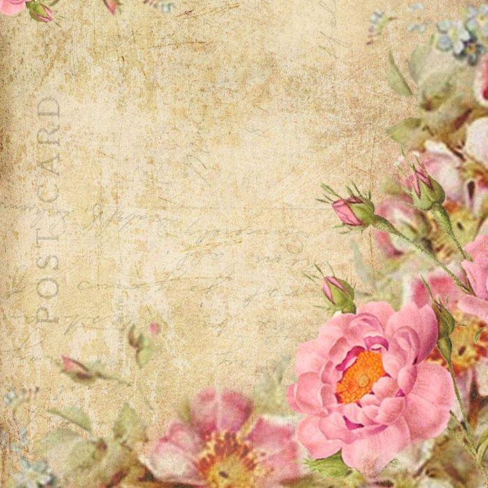 Vintage old love letter roses #10 Duvet Cover