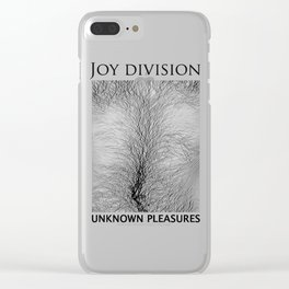 Joy Division Unknown Pleasures Clear iPhone Case
