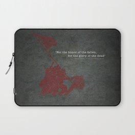 Iwo Jima Laptop Sleeve
