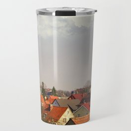 Roofs of the small town Travel Mug
