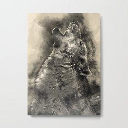 Art wolf Metal Print
