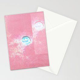 Pink Concrete Stationery Cards
