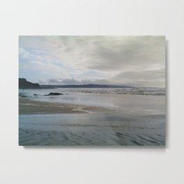 MOODY CROOKLETS BEACH BUDE CORNWALL Metal Print