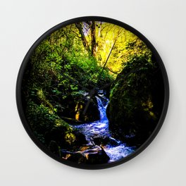 Forest Enchantment Wall Clock