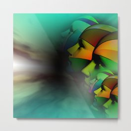 what do you see -2- Metal Print
