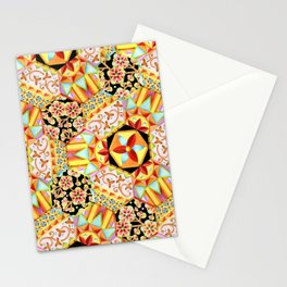 Gypsy Patchwork (printed) Stationery Cards