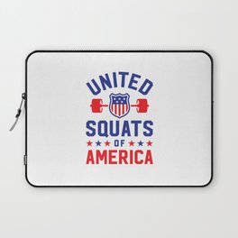 United Squats Of America Laptop Sleeve