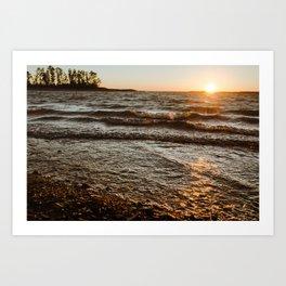 Clarks Hill Lake 2 Art Print