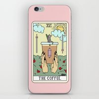 iPhone & iPod Skins featuring COFFEE READING by Sagepizza