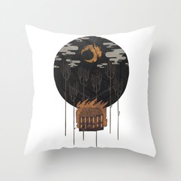 The Most Beautiful Night of All Throw Pillow