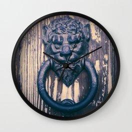 Lionhead Wall Clock