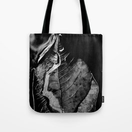 leaves of the river  Tote Bag
