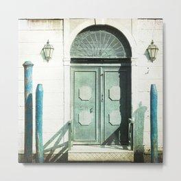 The Door - Venice Metal Print