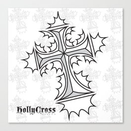 Hollycross Logo Canvas Print