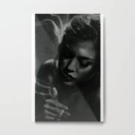 Frances Bean Metal Print