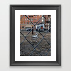The Silver Hobby Horse 2 Framed Art Print