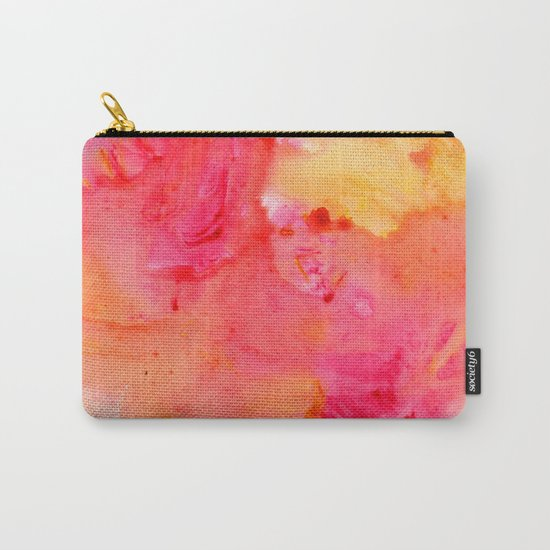 Peach flow Carry-All Pouch