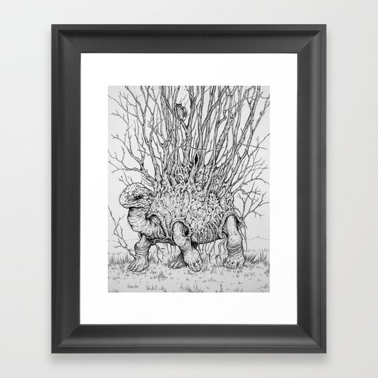 The Wandering Home Framed Art Print