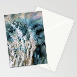 Abalone Abstract Stationery Cards