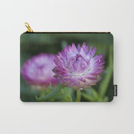 Straw Flower Carry-All Pouch