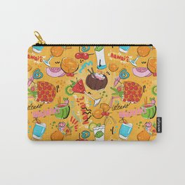 Tropical Hawaiian Cocktails Carry-All Pouch