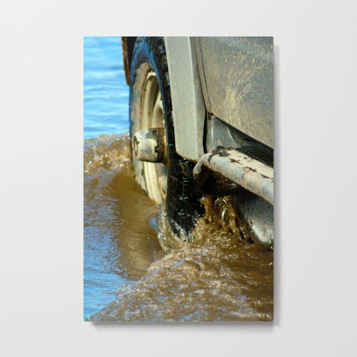 Off-road Metal Print