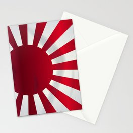 Japanese Rising Sun Flag Stationery Cards
