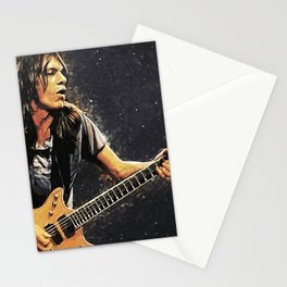 Malcolm Young Stationery Cards