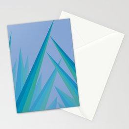 Prismatic Peaks Stationery Cards