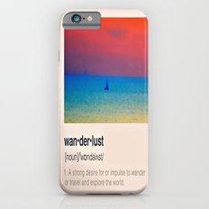 Wanderlust iPhone 6s Slim Case
