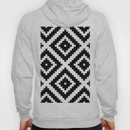 Aztec Diamond Geometric Pattern Hoody