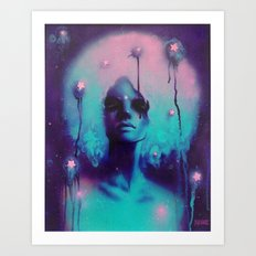 SpaceFro Art Print
