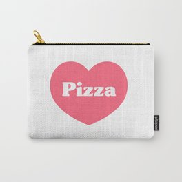 Heart Pizza Carry-All Pouch