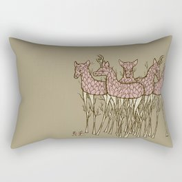 These Trees Stand Tall Rectangular Pillow