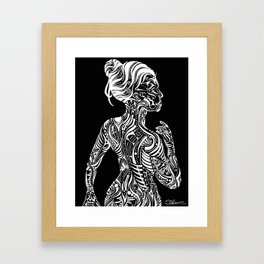Opposite Maori Framed Art Print