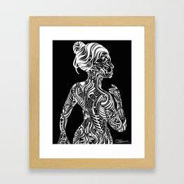Opposite Maori Framed Art Print