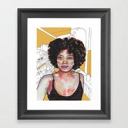 Rista Framed Art Print