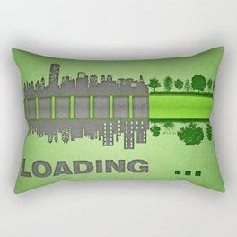 save the nature Rectangular Pillow