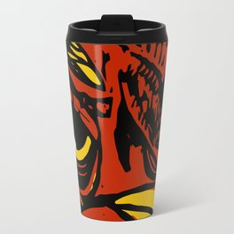 Eye of the Rooster Travel Mug