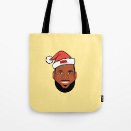 Lebron Christmas Tote Bag
