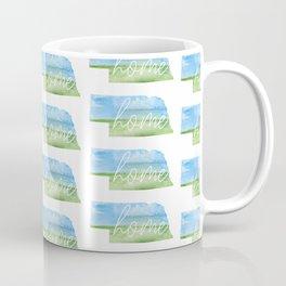 Nebraska Home State Coffee Mug