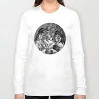 sister Long Sleeve T-shirts featuring SISTER  by DIVIDUS