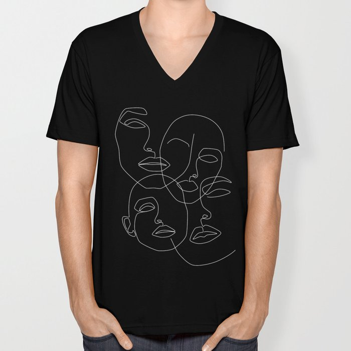 In The Dark Unisex V-Neck