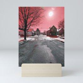 Frozen Mars Mini Art Print