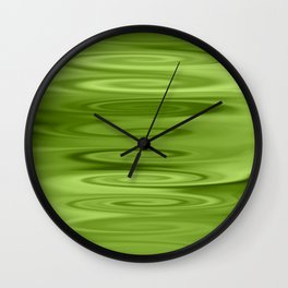 spring riples Wall Clock